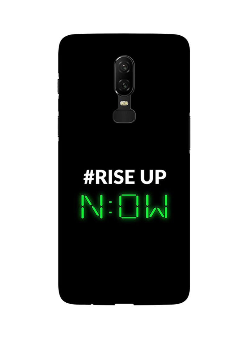 Shop Stylizedd Protective Case Cover For OnePlus 6 Rise Up online in Dubai,  Abu Dhabi and all UAE