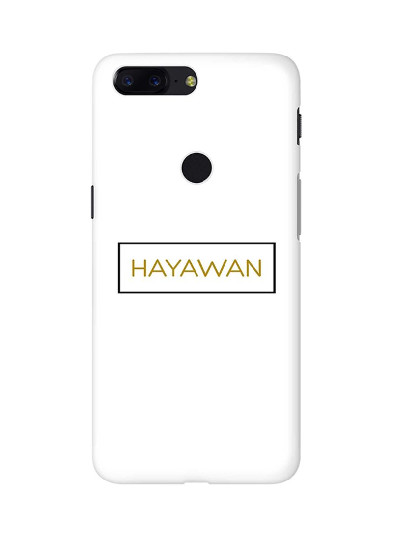 Shop Stylizedd Protective Case Cover For OnePlus 5T Hayawan online in  Dubai, Abu Dhabi and all UAE
