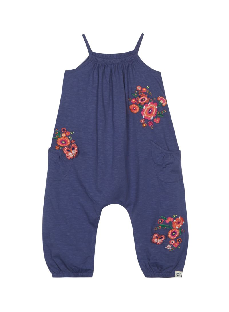513796a9ee2b Shop Debenhams Mantaray Floral Embroidered Jumpsuit Navy online in ...