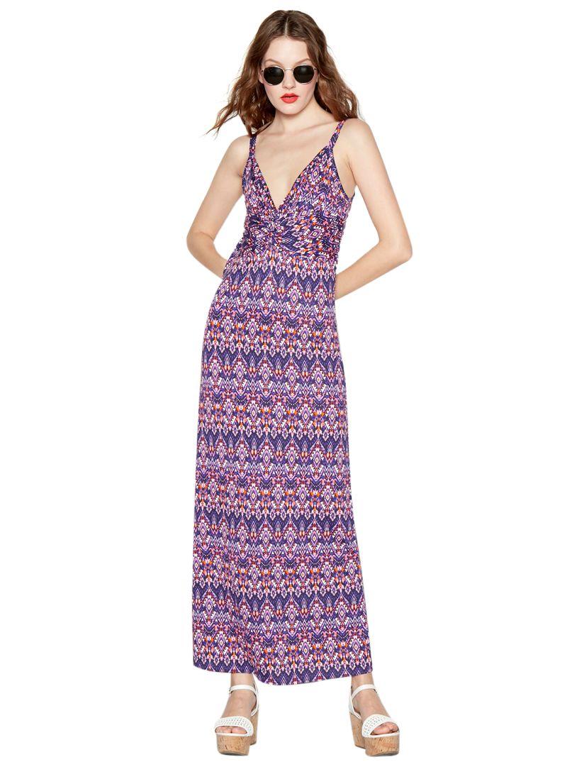 3ecf4ad5fca Shop Debenhams Red Herring Floral Print Twist Front Dress Purple ...