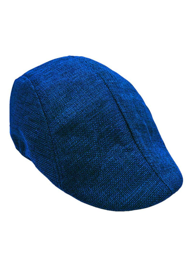 0080e4e15 Shop Unbranded Casual Breathable Beret Flat Golf Hat HL257 Blue ...