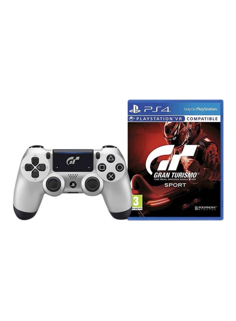 378810e45ee otherOffersImg v1535534022 N12834574A 1. Sony. Gran Turismo Sport With  Limited Edition DualShock 4 Wireless Controller - PlayStation 4