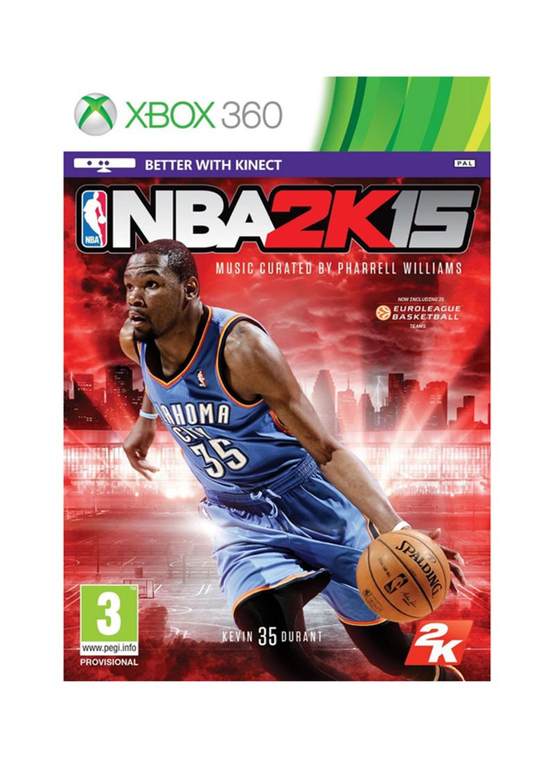 5b76862a196b Shop 2K NBA 2K15 With Kevin Durant MVP Bonus - PAL - Xbox 360 online ...