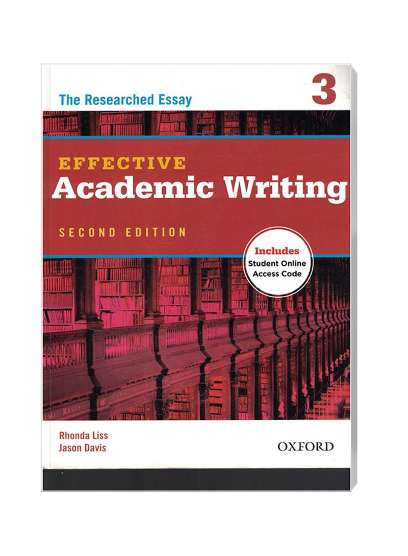 Effective Academic Writing 2 Student Book