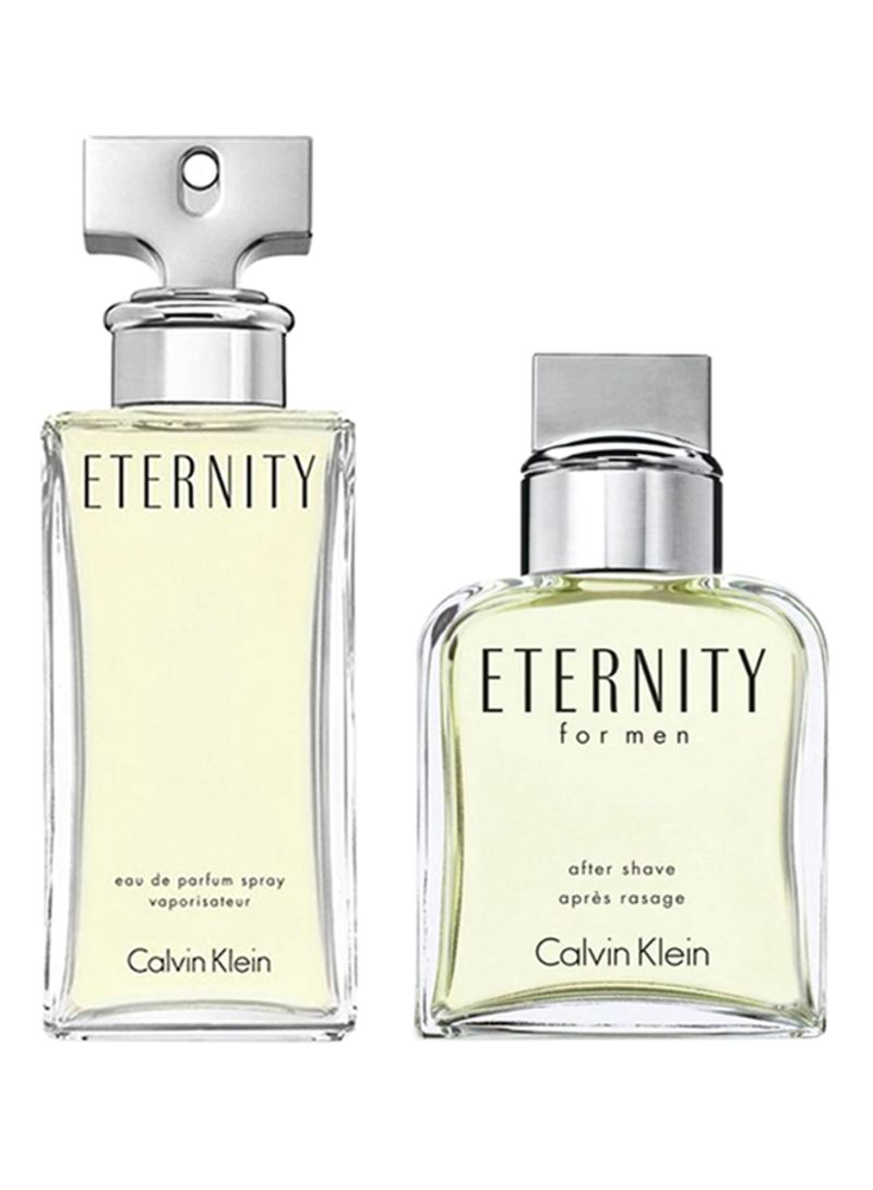 f6fa809ce تسوق كلفن كلاين وعطر CK إترنيتي للنساء 100 مل & Ck Eternity Men 100 ...