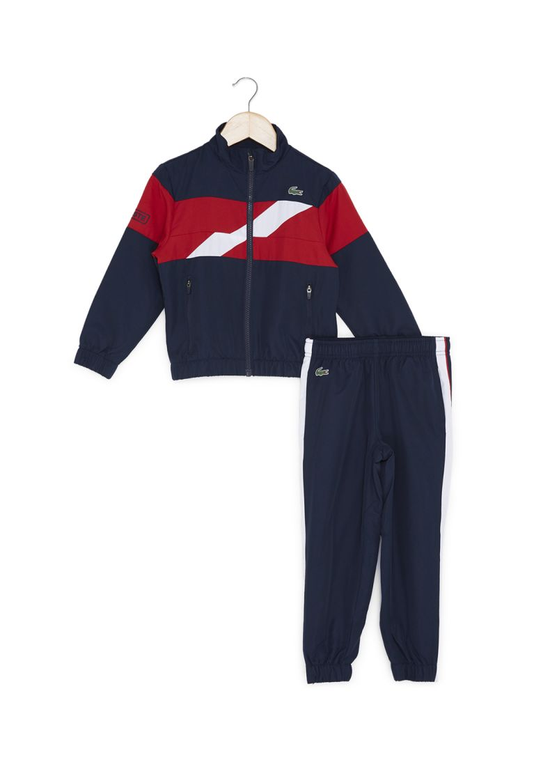 d08ad37ee3 Shop Lacoste 2-Piece Tracksuit Set Navy Red White online in Riyadh ...