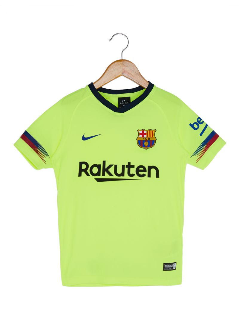 1cfe4a511 Shop Nike FC Barcelona Jersey T-Shirt Green/Black/Red online in ...
