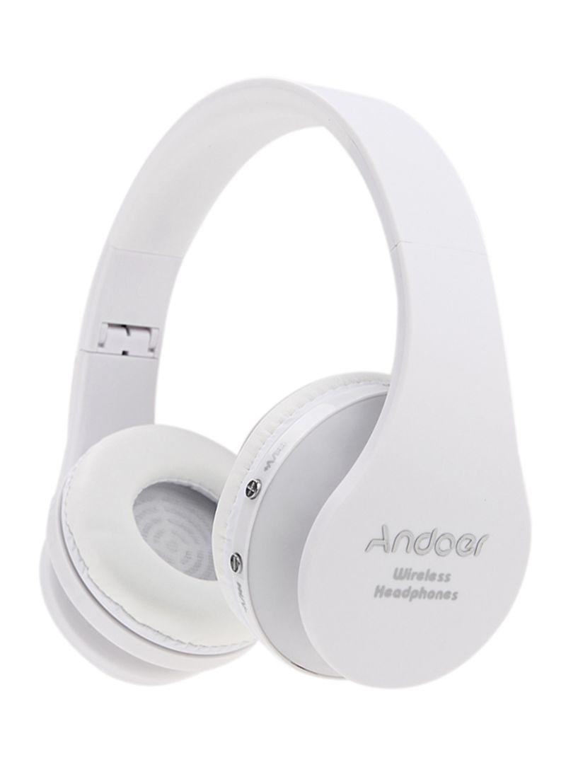 70278b06b35 Shop Andoer Foldable Wireless Bluetooth Stereo Headphones With Mic ...