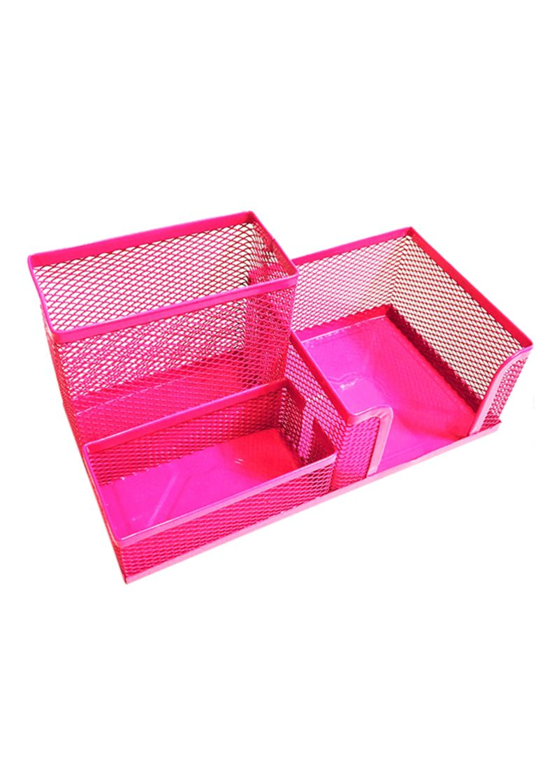 Sensational Shop Atk Metal Mesh Desk Organizer Pink Online In Dubai Abu Home Interior And Landscaping Sapresignezvosmurscom