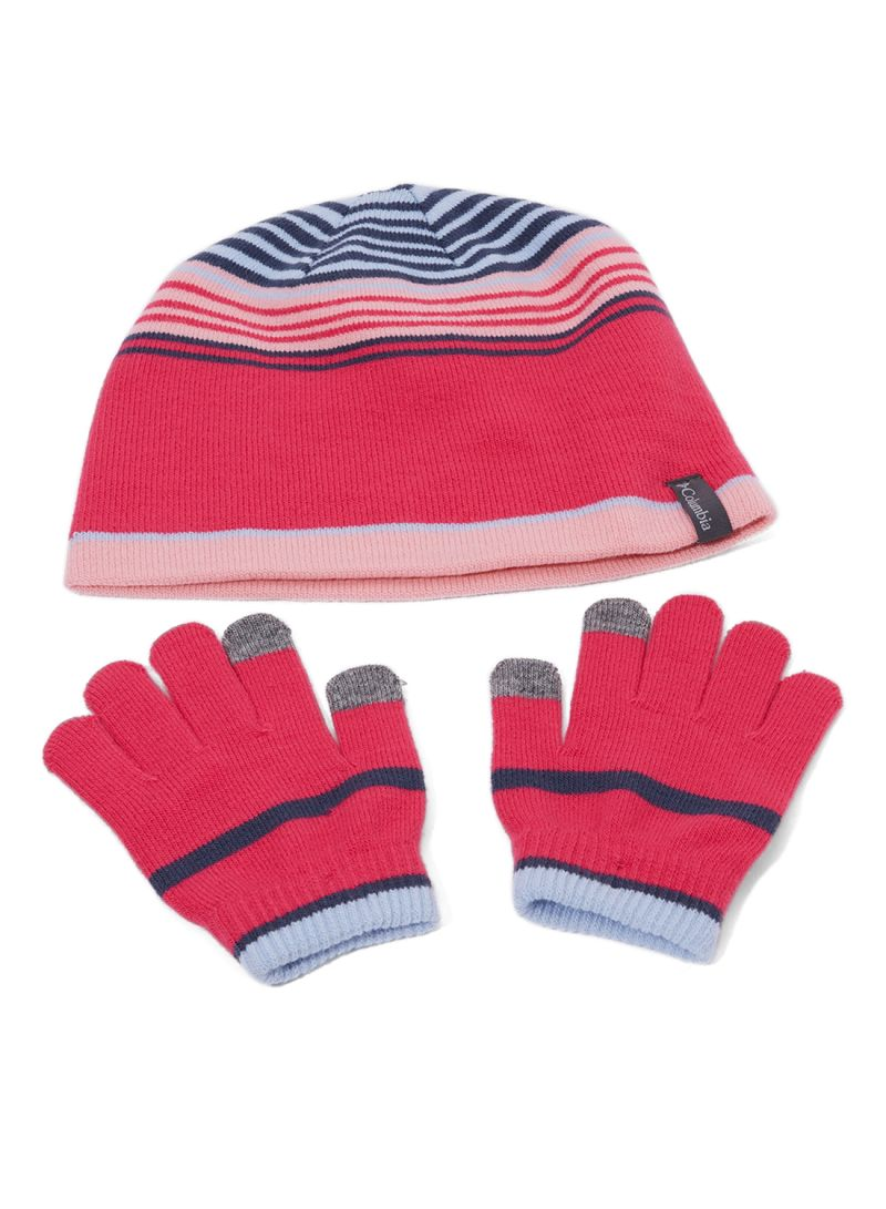 Shop Columbia Youth Beanie And Glove Set Cactus Pink online in ... 4576b7fdc0c5