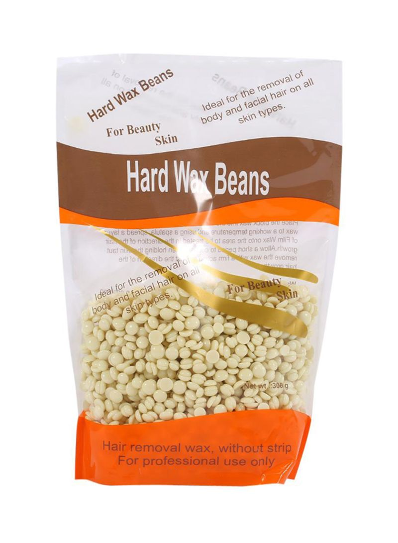 Shop Generic Cream Infused Hard Wax Beans Beige 305 g online in