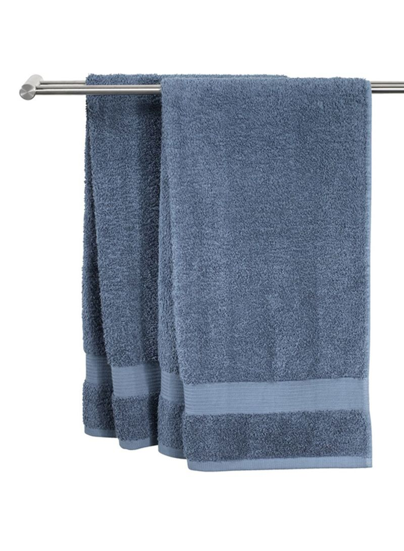 Geometric Print Hand Towels 16 x 25 Green E by design HTG800GR17 Woven Tiki