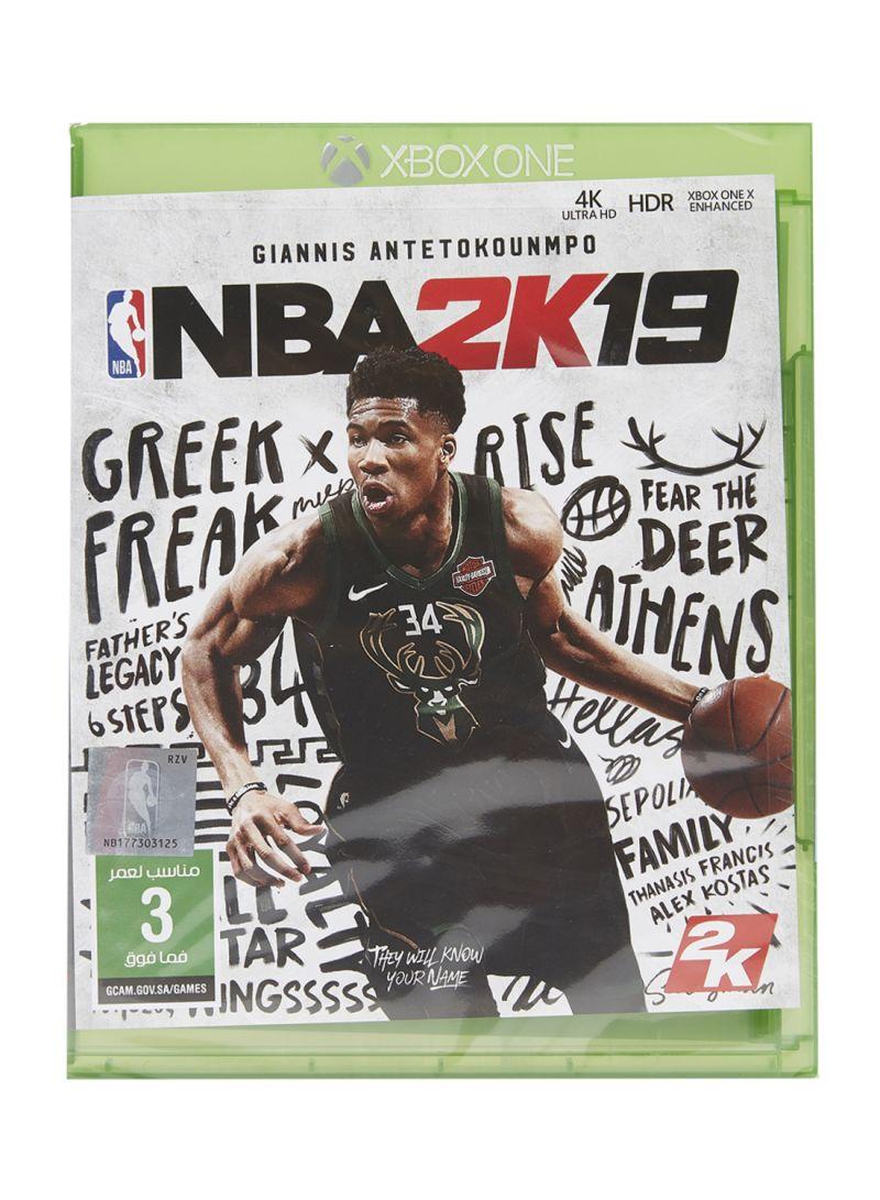 d3148d147bd Shop 2K NBA 2K19 - Xbox One online in Dubai
