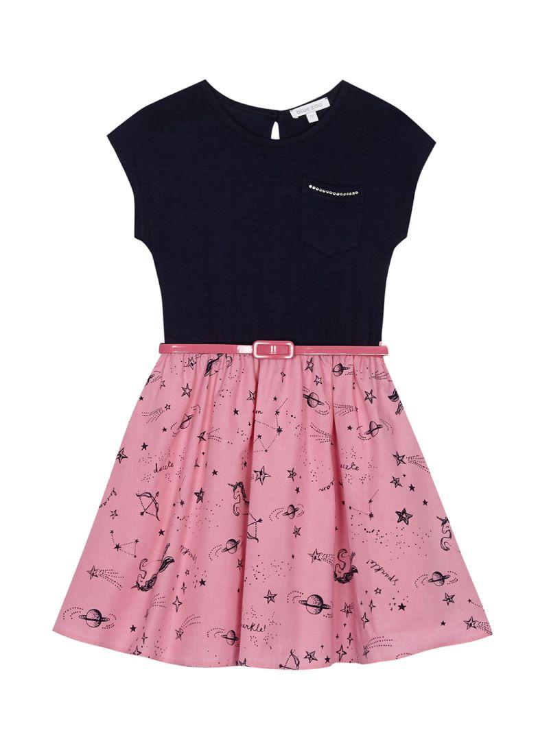 aa5ae61703b3 تسوق ديبنهامز وفستان بطبعة وحيد القرن من بلوزو متعدد الألوان أونلاين ...