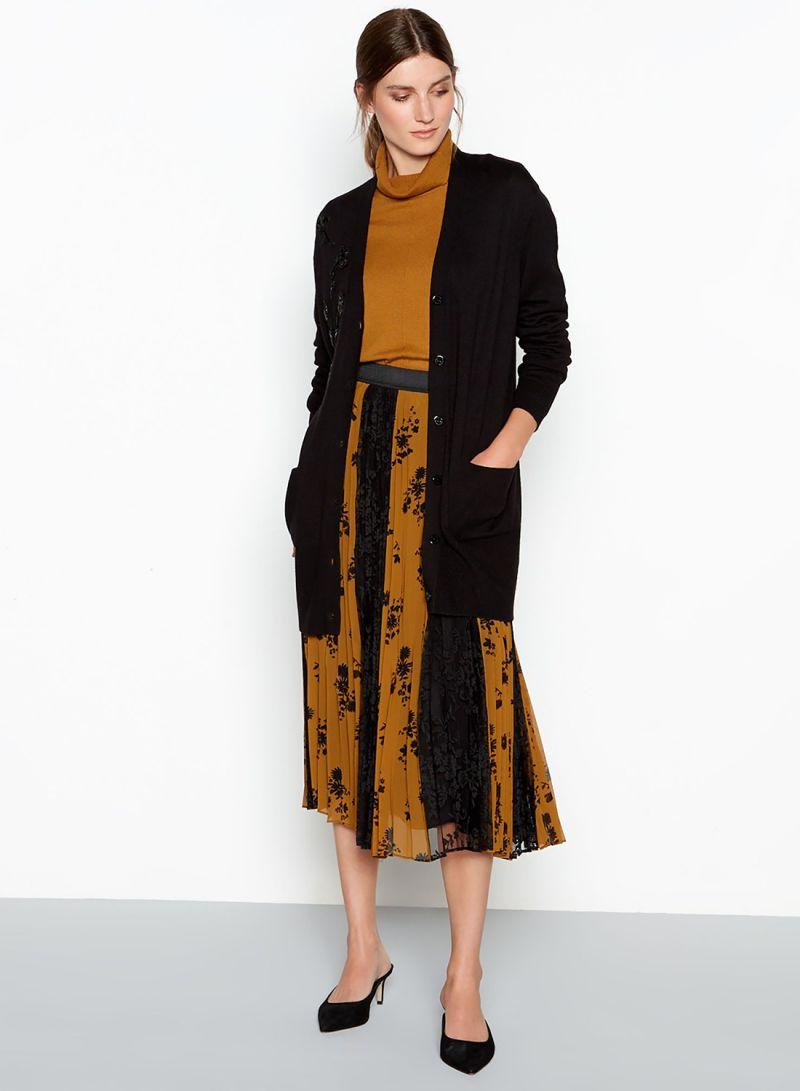 0be9f05ef7 Shop Debenhams RJR.John Rocha Bead Embellished Cardigan Black online ...