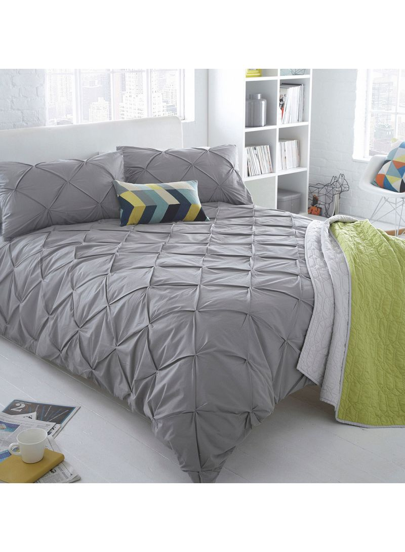 shop debenhams the collection 5 piece ruched brooklyn bedding set