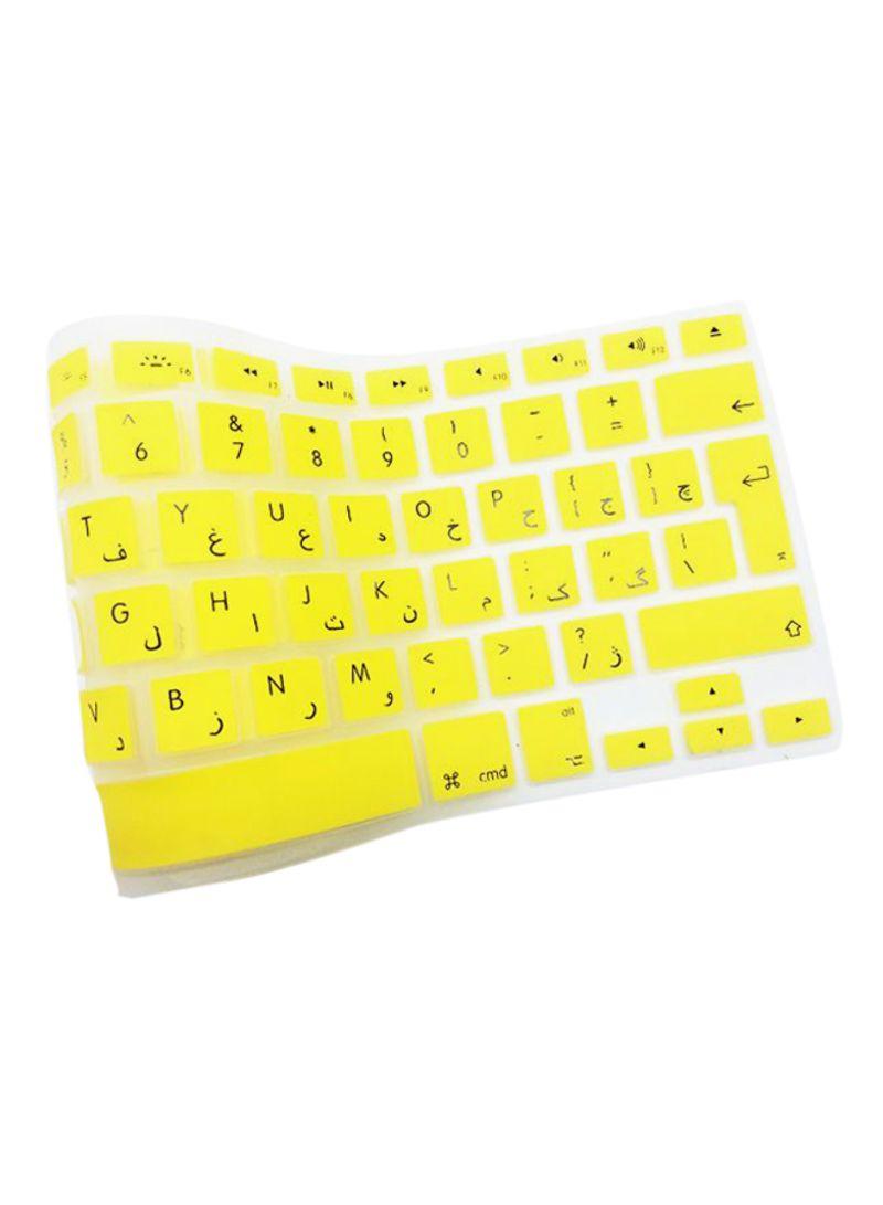 Shop Generic English/Arabic Keyboard Cover For Apple MacBook
