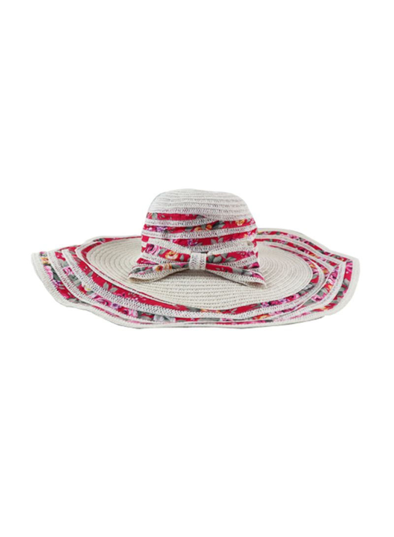 otherOffersImg v1537352552 N17926404V 1. Unbranded. Beach Straw Hat White  Red Yellow 5902ffeae11