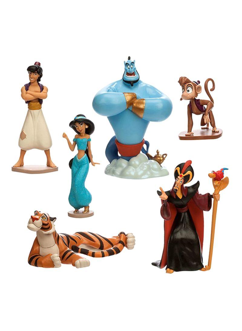تسوق ديزني ومجموعة ألعاب شخصيات علاء الدين من متجر ديزني 4 بوصة