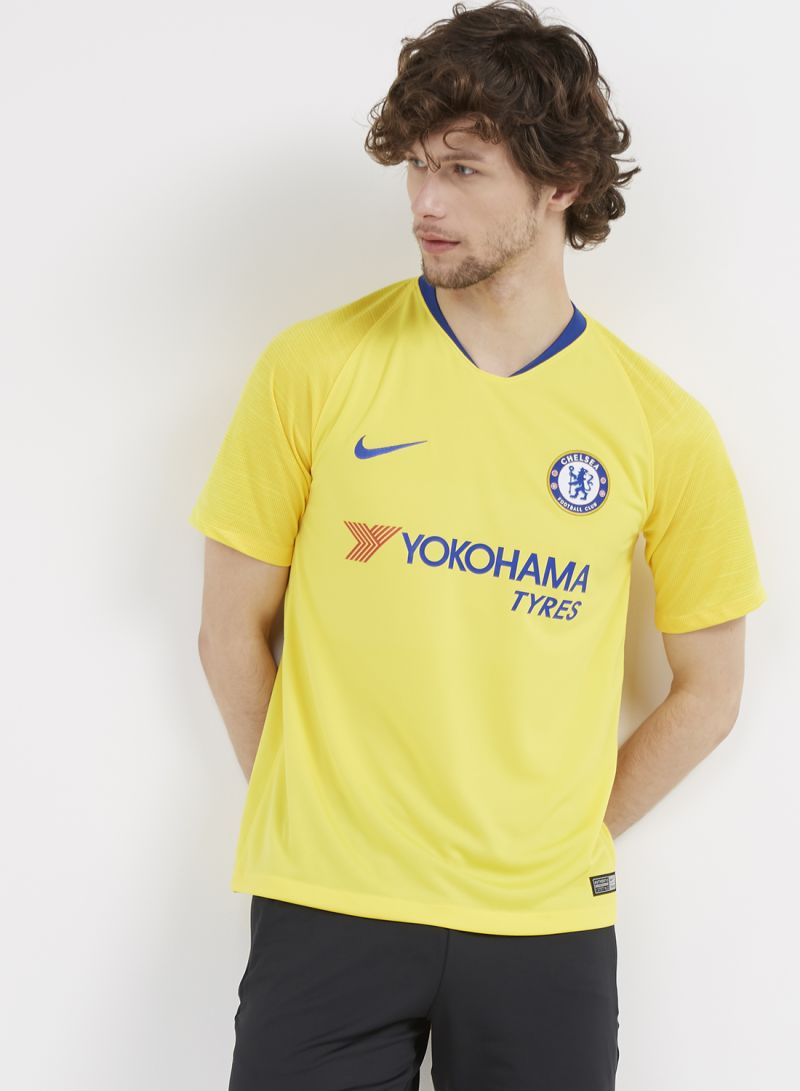 7c5e14837 Shop Nike Chelesa Away Jersey T-shirt Yellow Blue online in Riyadh ...