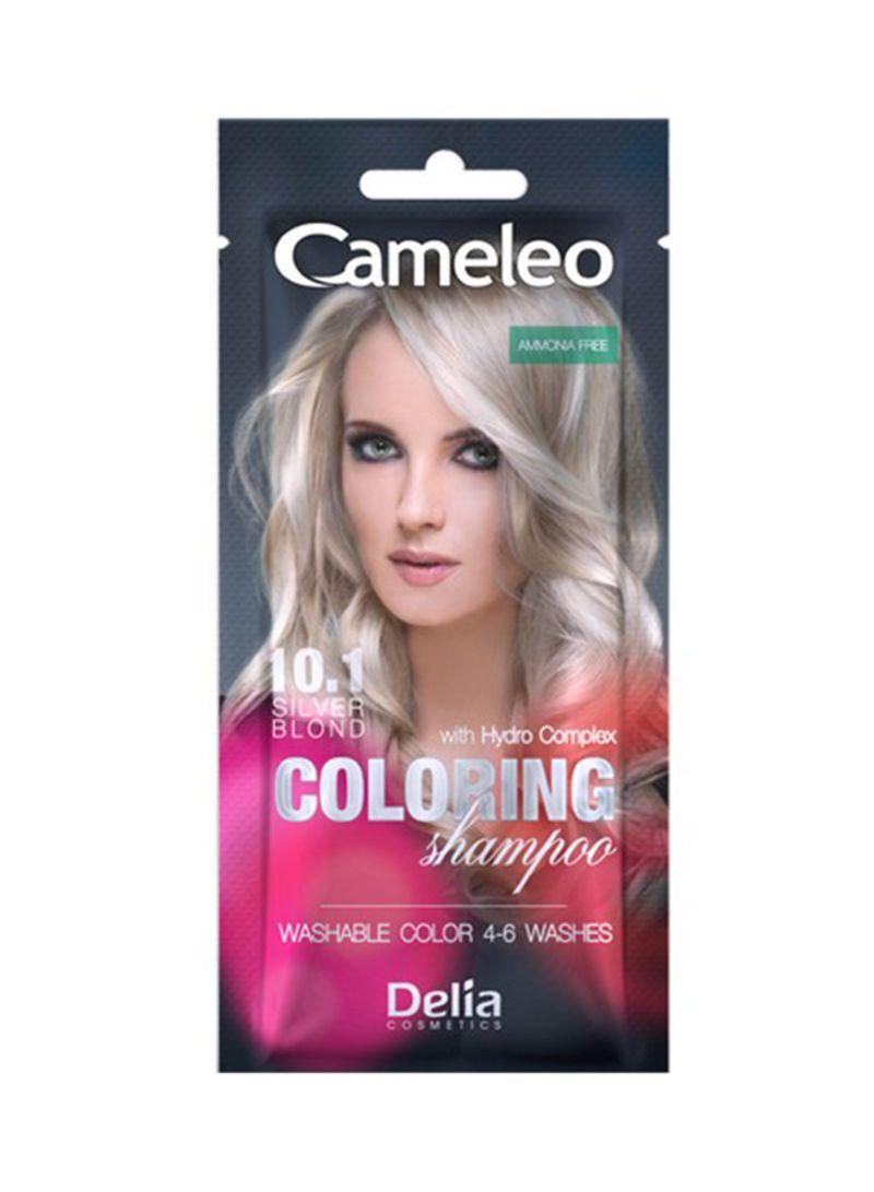 Shop Delia Cameleo Coloring Shampoo With Hydro Complex 10.1 Silver ...