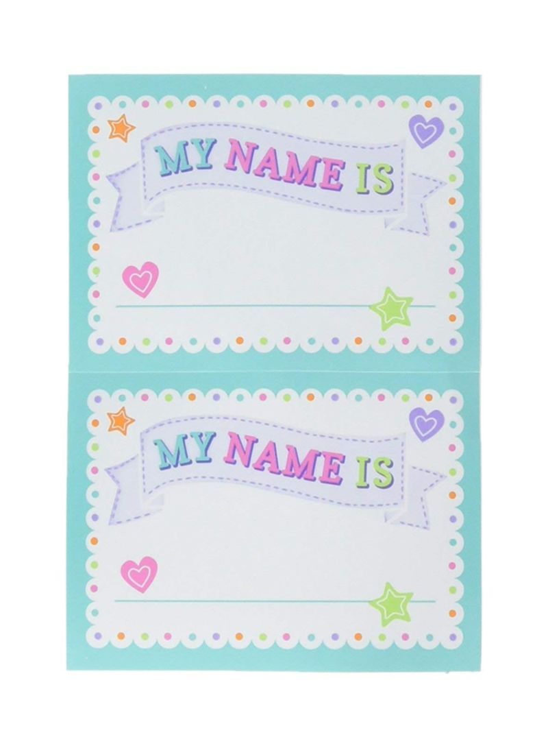 Shop Amscan Baby Shower Name Tag Set Online In Riyadh Jeddah And