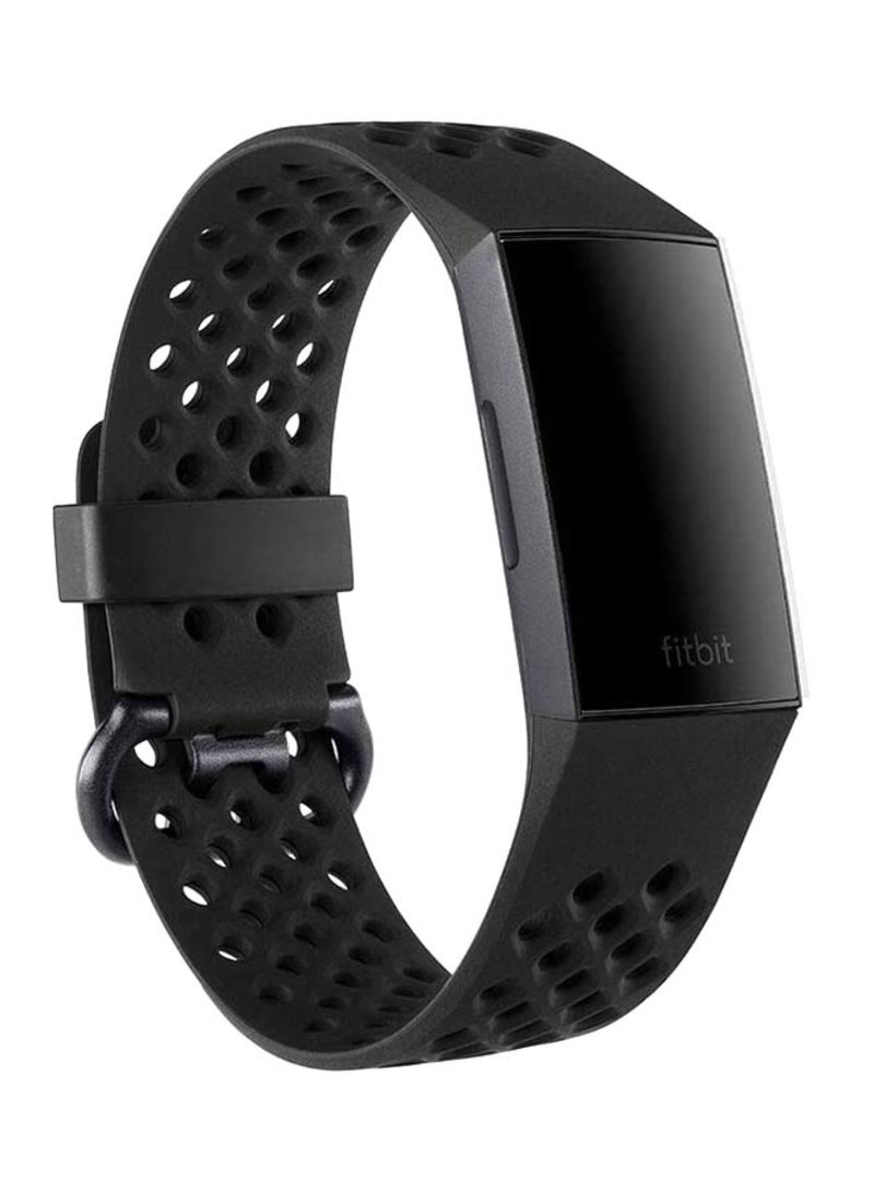 c13c0e188 تسوق فيتبيت وReplacement Band For Fitbit Charge 3 أسود Large أونلاين ...