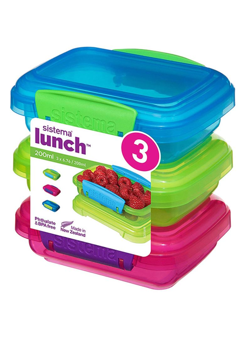 Multi Compartment Snack Duo