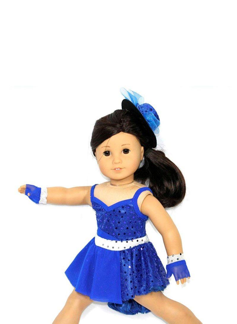 1004105fbc7 Shop Generic 4-Piece Dance Costume For Dolls online in Dubai, Abu ...