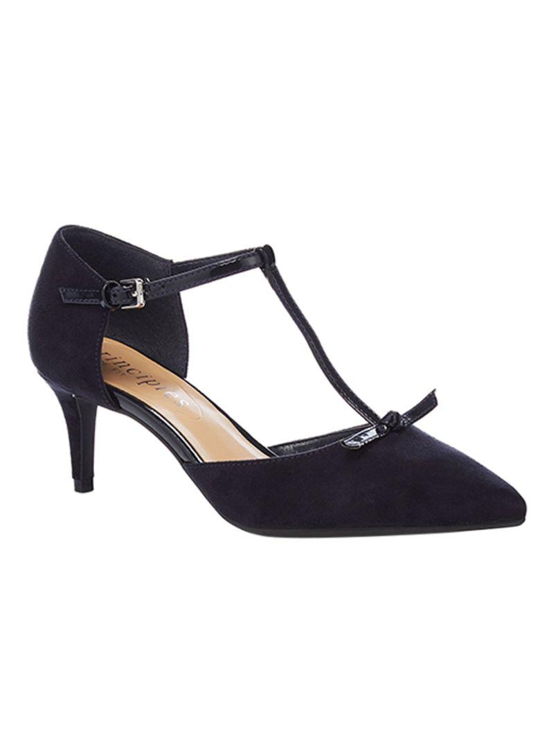 bdff476efc2 Shop Debenhams The Collection Chester Mid Kitten Heel T-bar Shoes ...
