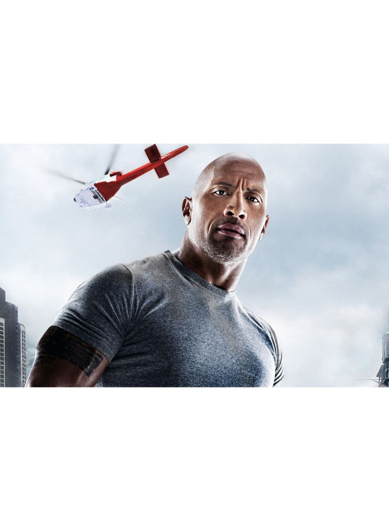 Shop Canvasjet Dwayne Johnson In San Andreas Movie Wall Art Canvas Print Multicolour 50x31x3 5 Cm Online In Dubai Abu Dhabi And All Uae