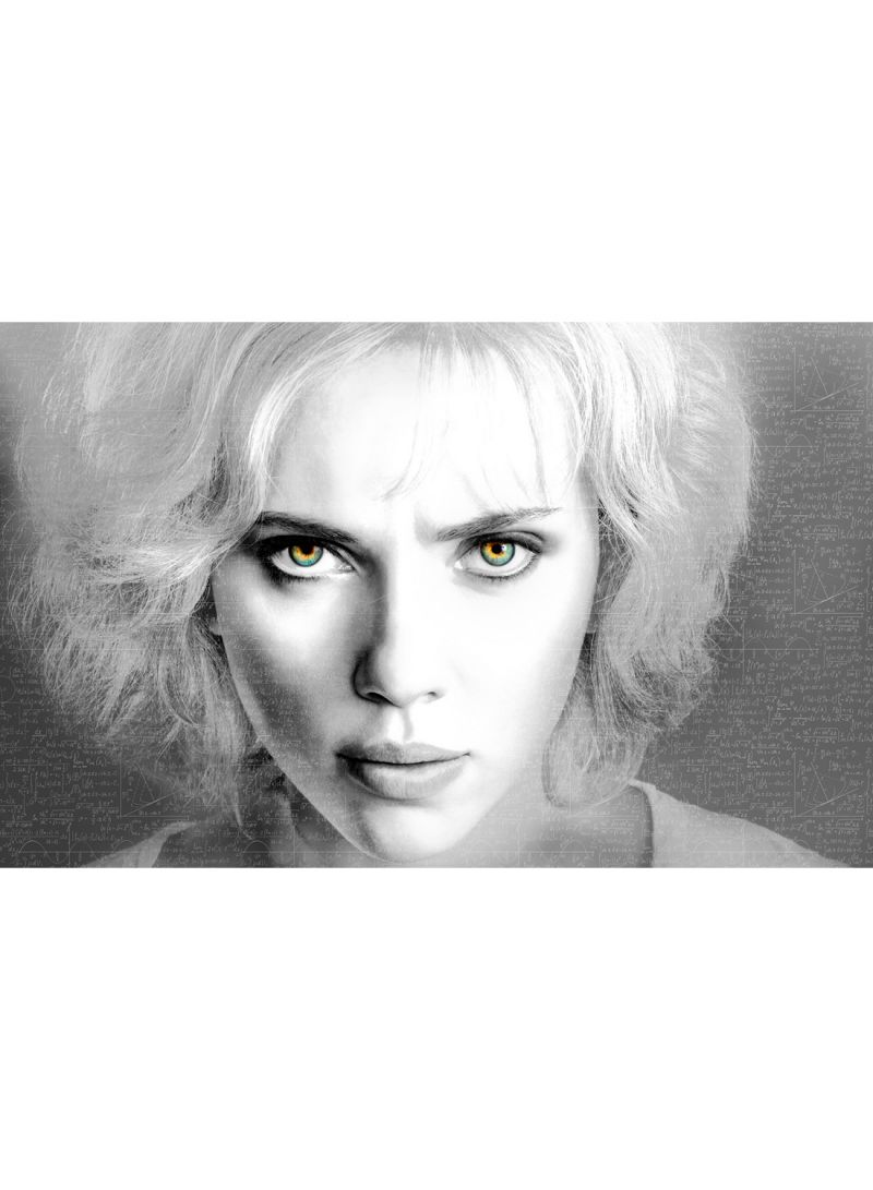 Shop Canvasjet Scarlett Johansson In Lucy Movie 2 Wall Art Canvas Print Multicolour 50x31x3 5 Cm Online In Dubai Abu Dhabi And All Uae