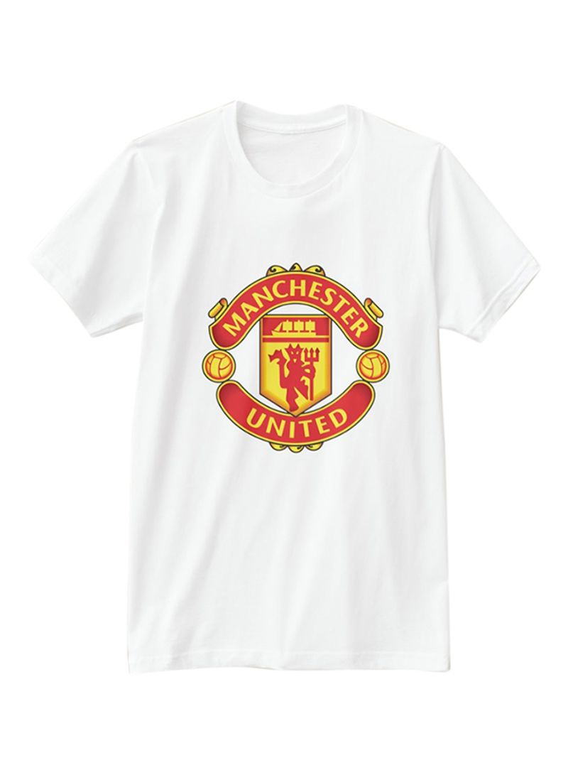 5215922a1 Shop 1st Piece Manchester United FC Design Short Sleeve T-Shirt ...