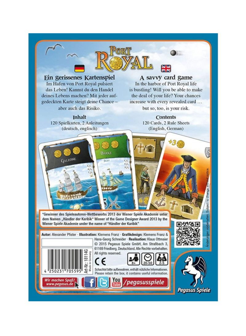 Spiele Pegasus Spiele Port Royal