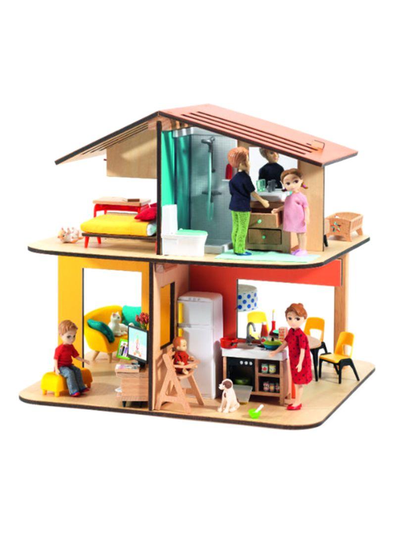 Shop Djeco Modern Dollhouse Online In Dubai Abu Dhabi And All Uae