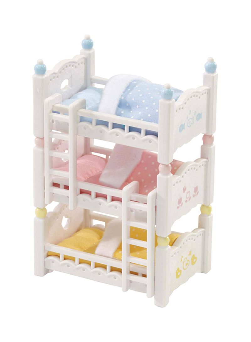 Shop Calico Critters Triple Baby Bunk Bed Set Online In Dubai Abu Dhabi And All Uae
