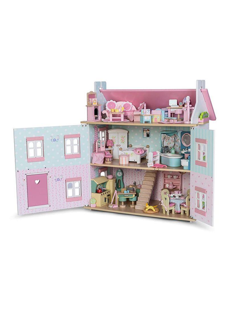 Shop Le Toy Van Dollhouse Master Bedroom Set Online In Dubai Abu