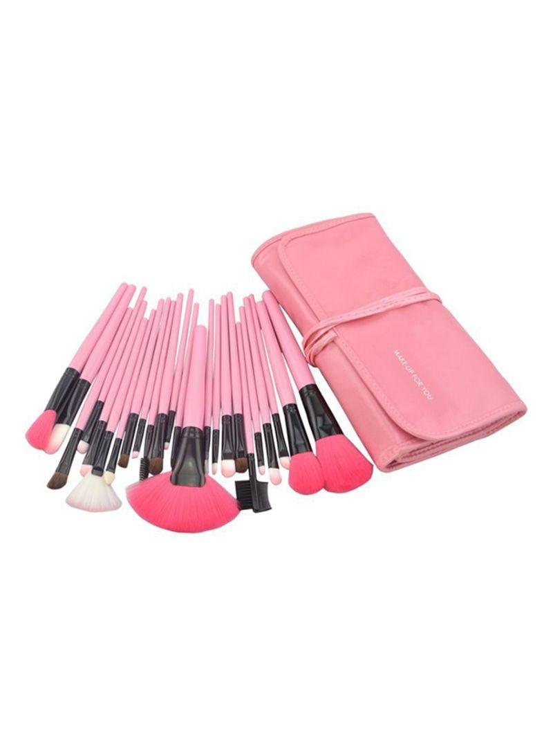 24 Piece Professional Makeup Brush Set