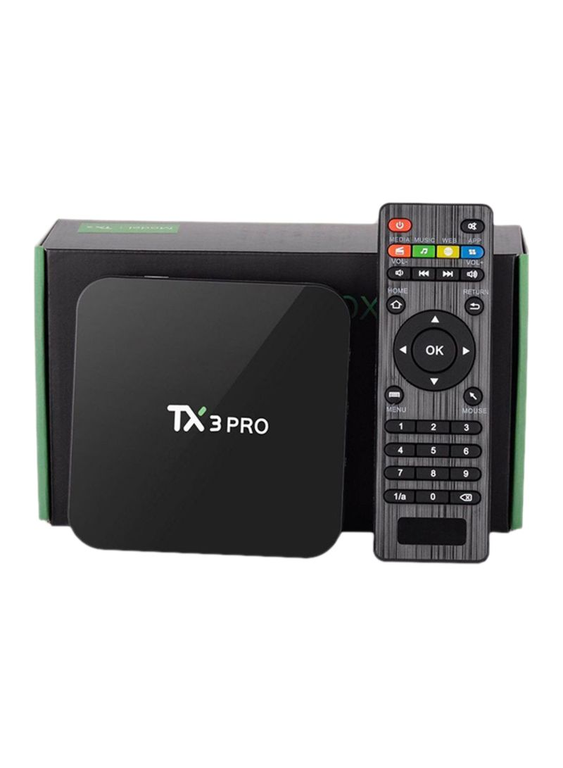 Shop TX3 Pro Android Smart TV Box With Measy GP811 Wireless Keyboard  2724635713248 Black online in Riyadh, Jeddah and all KSA