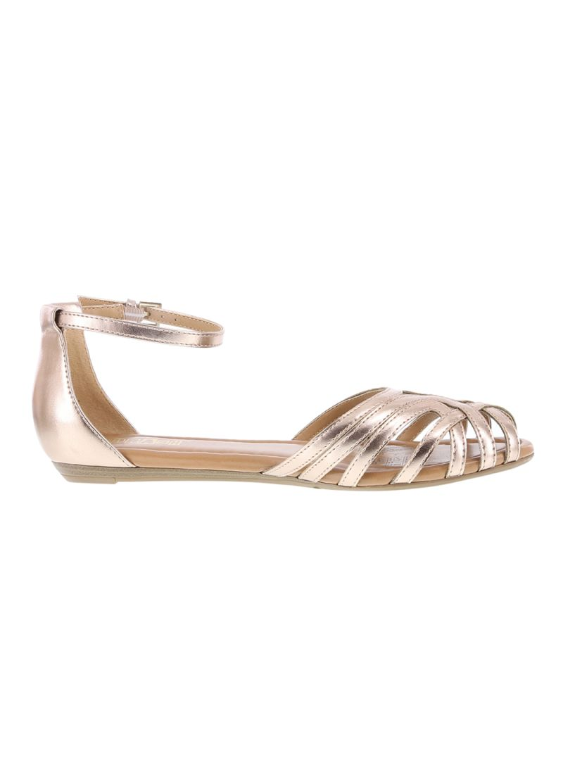 5f0de65f7bc Shop Payless Scorpion Two Piece Flat Sandals online in Dubai