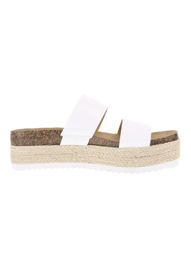 Banded Platform Sandals