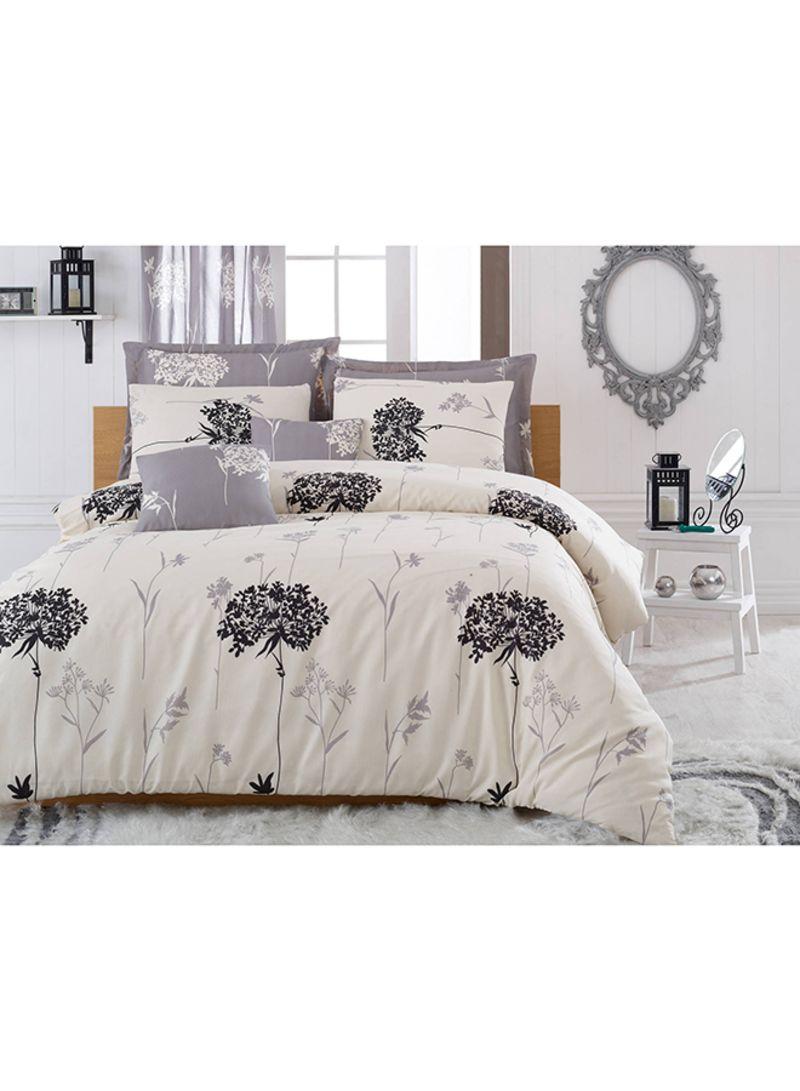 3 Piece Quilt Duvet Cover Set Cotton Grey Cream Black Single Price In Saudi Arabia Noon Saudi Arabia Kanbkam