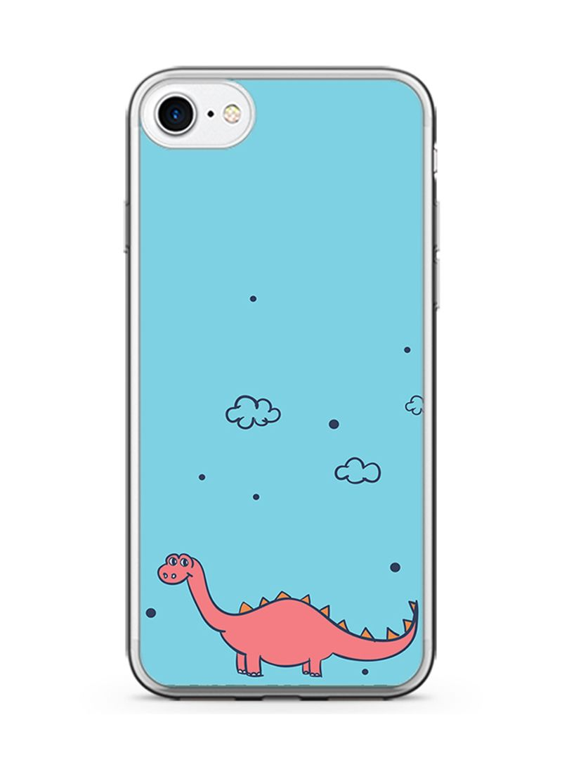 watch 8f75b 18c1d Shop Loud Universe 2D Print Protective Case Cover For Apple iPhone 8 Cute  Dinosaur online in Dubai, Abu Dhabi and all UAE
