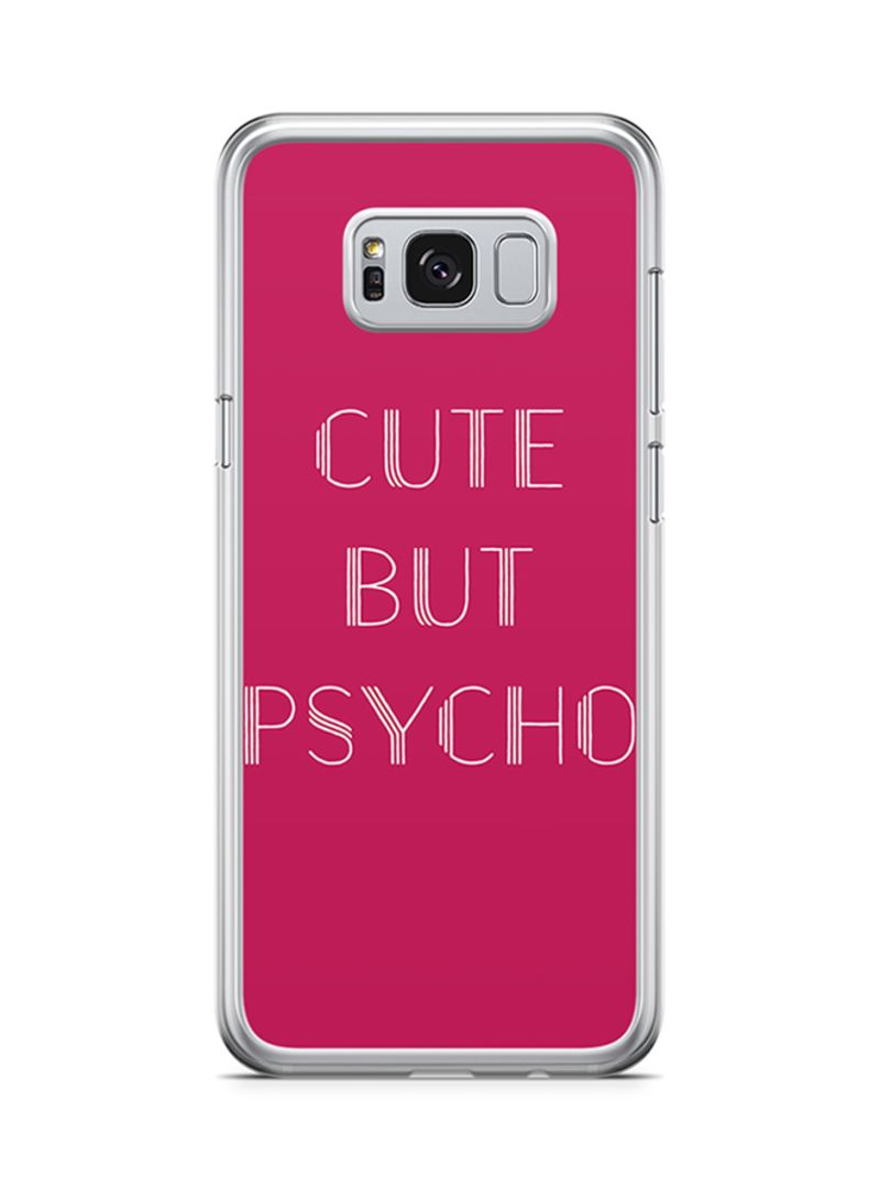 free shipping 8eaaa b758c Shop Loud Universe 2D Print Protective Case Cover For Samsung Galaxy S8  Plus Cute But Psycho online in Dubai, Abu Dhabi and all UAE
