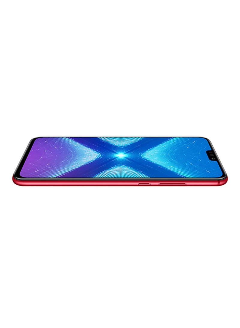 Shop Honor 8X Dual SIM Red 128GB 4GB RAM 4G LTE online in Dubai, Abu Dhabi  and all UAE