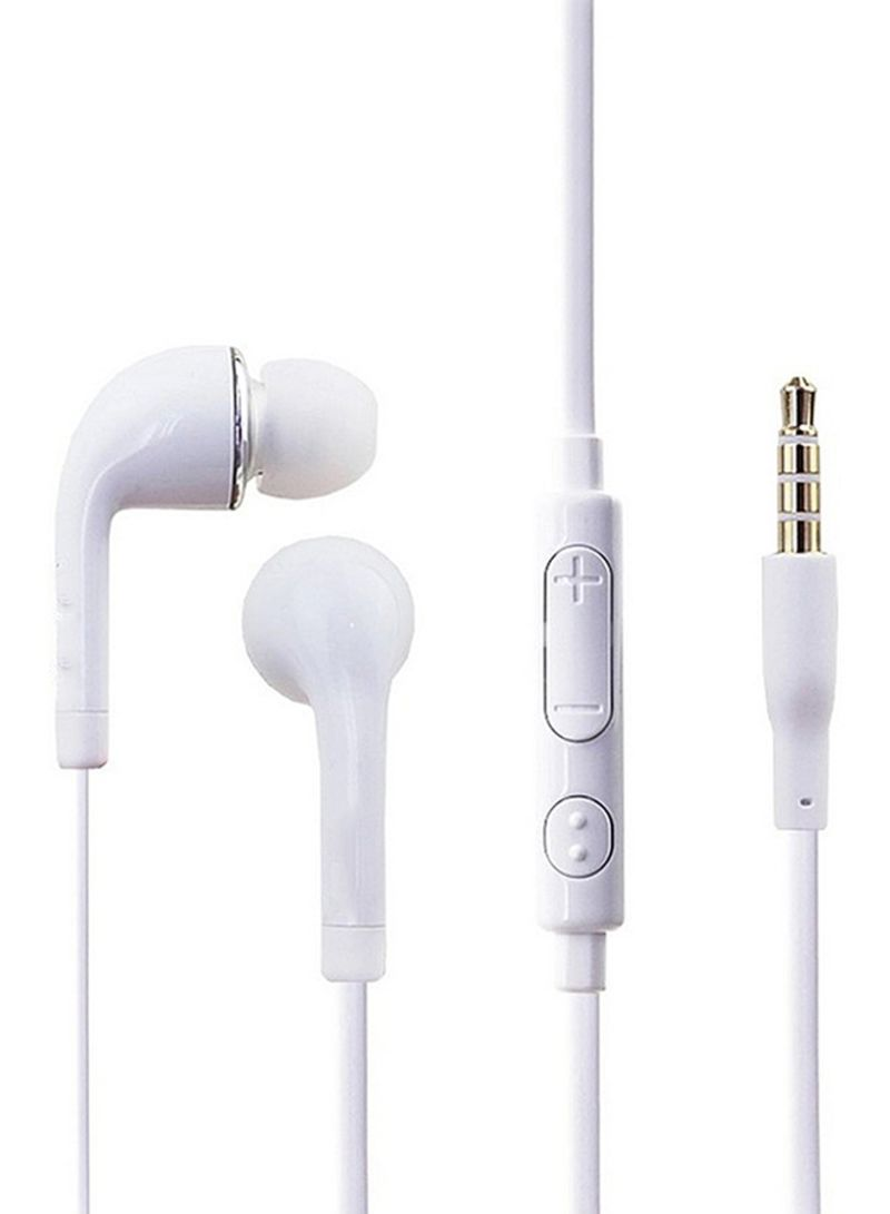 5d2e067959c Shop mini smile J5 In-Ear Earphones With Microphone White online in ...