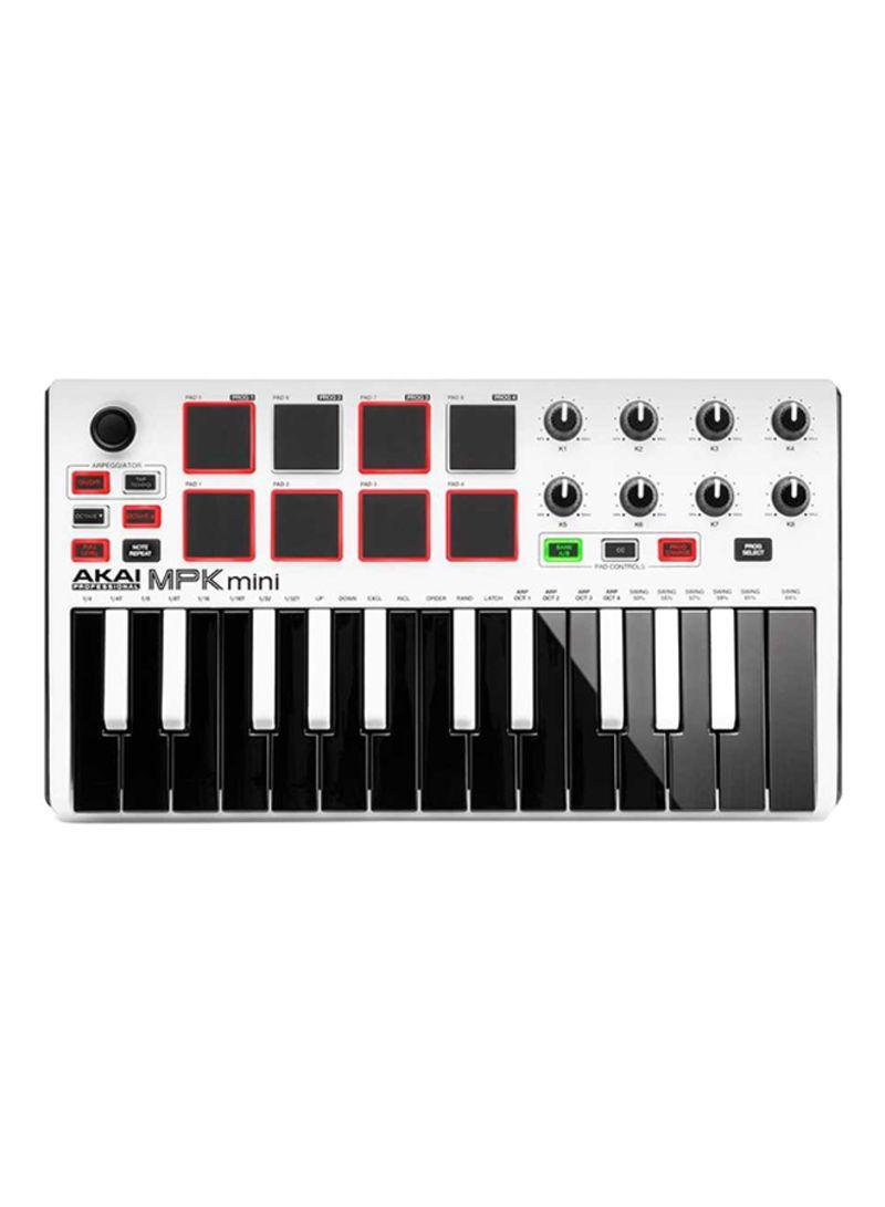 Shop AKAI Akai MPK Mini mkII Compact Keyboard and Pad Controller