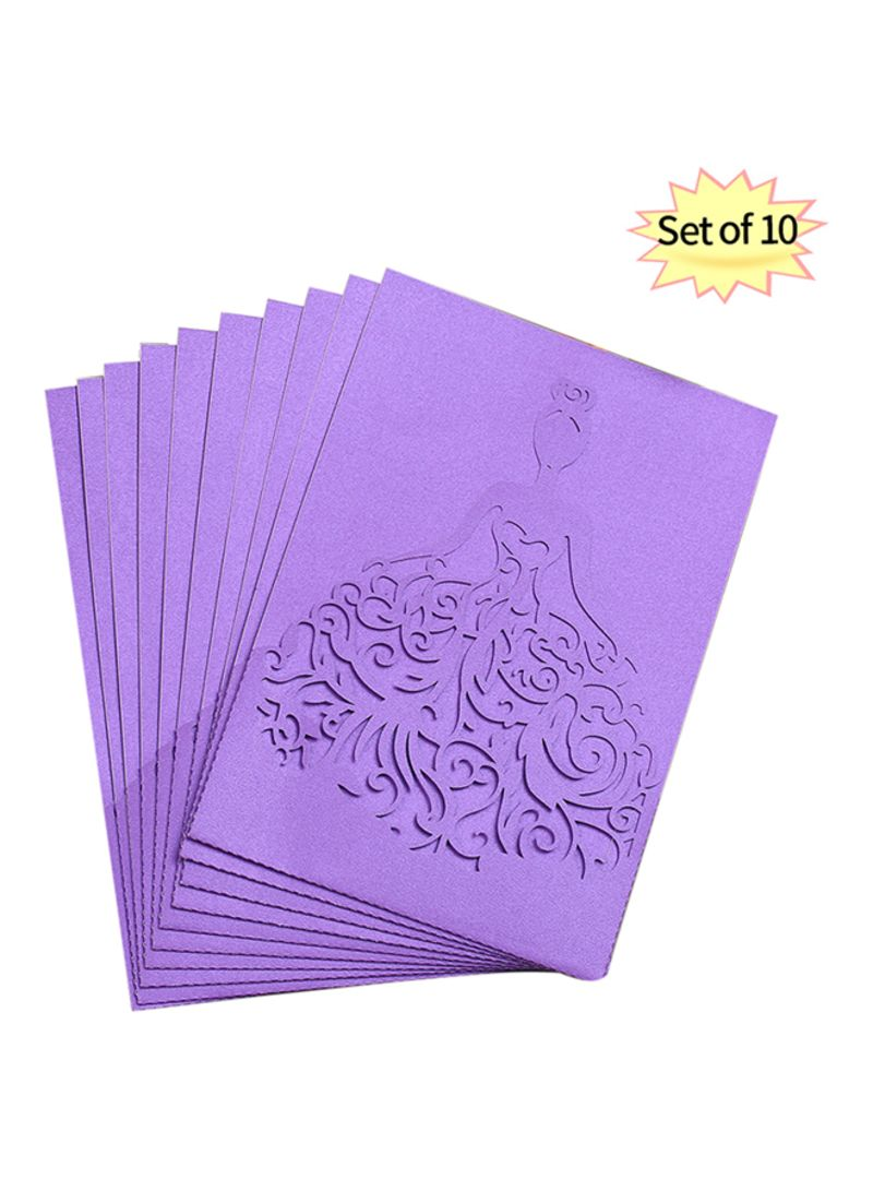 Shop Generic Pack Of Invitation Card Set Online In Dubai