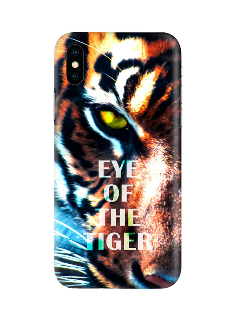 Shop Stylizedd Protective Case Cover For Apple iPhone X/iPhone XS Eye Of  The Tiger online in Dubai, Abu Dhabi and all UAE