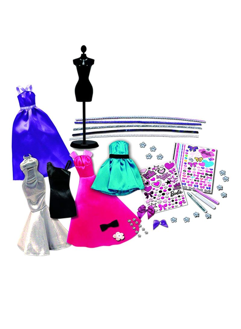 Shop Tara Toys 150 Piece Barbie Be A Fashion Designer Doll Dress Up Kit Online In Dubai Abu Dhabi And All Uae